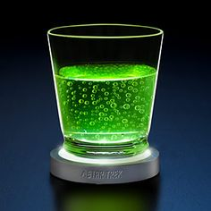 Star Trek Transporter Pad LED Coasters. A set of 4 coasters that look and sound like ST:TOS transporter pads. When you place a drink on one or remove it, the coaster lights-up and plays either a materialization or a dematerialization sound.