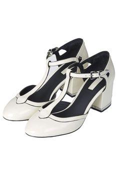 c0f82c031db joyful t-bar mid heels in white. Shoe Room