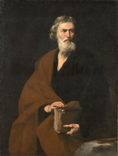 Saint Matthew, 1632, Jusepe de Ribera