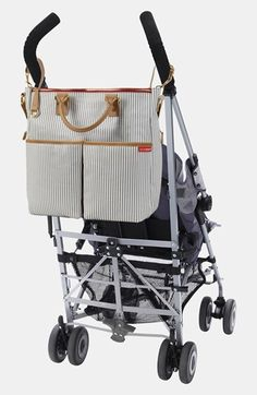 Skip Hop 'Duo' Diaper Bag French Stripe ♦at buybuybaby.com $63.99♦
