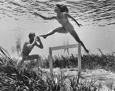 1950s underwater shots from Bruce Mozert