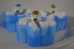 Polar Bear Soap - Single Bar by OrangeUGladSoap on Etsy https://www.etsy.com/listing/570673333/polar-bear-soap-single-bar
