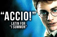 Harry Potter is fantasy, but the names of those spells are kind of real!