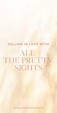 #FallingInLoveWIth