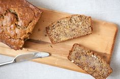 Espresso Banana Bread - optional, add some chocolate chips or just make the whole thing chocolate! Coffee Banana Smoothie, Banana Coffee, Espresso Coffee, Make Banana Bread, Baked Banana, Banana Bread Recipes, Food 52, Sweet Bread, Sweet Tooth