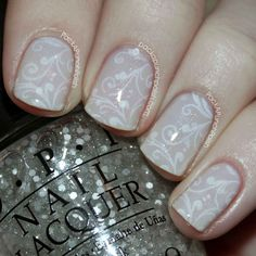 PackAPunchPolish: Delicate Fairy Tale Nail Art