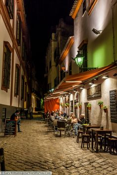 The Barrio Santa Cruz is one of the things to tempt you in Seville.
