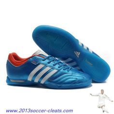 Cheap Adidas Adipure 11Pro IC boot Blue White Red Football Boots
