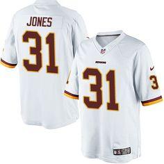 Nike Limited Matt Jones White Youth Jersey - Washington Redskins  31 NFL  Road John Elway aa293040f