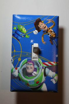 Toy Story Woody & Buzz Light Switch Plate Cover by ComicRecycled, $7.99
