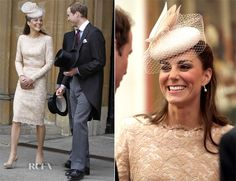 Catherine, Duchess of Cambridge In Alexander McQueen - St Paul's Cathedral