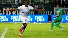 El delantero Miguel Ángel Murillo llegó a 40 goles con el Deportivo Cali.
