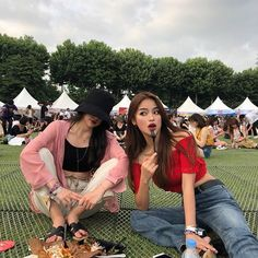 Image may contain: 2 people, outdoor Best Friend Pictures, Bff Pictures, Bff Goals, Best Friend Goals, Best Friend Couples, Korean Best Friends, Pretty Korean Girls, Big Friends, Korean Girl Fashion