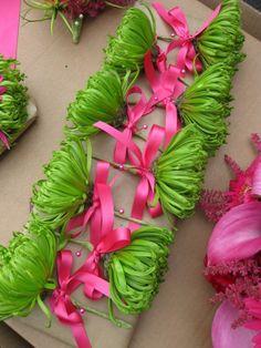 Fuchsia and Lime Wedding | #exclusivelyweddings | #weddingcolors ...