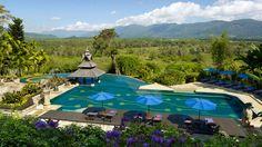 Piscina del Golden Triangle Resort in Thailandia