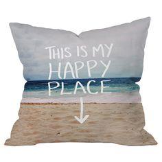 Happy Place x Beach Pillow