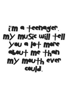 Do you think life would be easier just to be a teenager?
