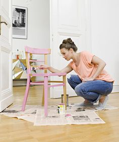 Updating furniture you already have is one of the cheapest and most effective ways to give your home a New Year's makeover—even if it's not the easiest solution. But what better time to learn than now?