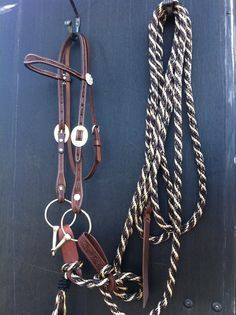 mecate reins with slobber straps   Mecate Reins and Products