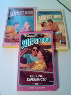 Sunset High books Set of 3 Sunset High series by MargoPlaceBooks