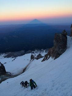 Amazing climb this weekend to the top of Mt. Hood, Oregon! We used the Timberline guide service and had an amazing guide by the name of Geoff Lodge. Highly recommend this trip to anyone looking for an amazing adventure and experience. Discovered by Gavin Burns at Mt. Hood summit, Clackamas County, Oregon