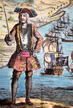 famous pirates in history | Another famous pirate, homebase Africa, was a Welshman -- Bartholomew ...