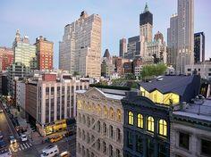 New York'taki 159 Yıllık Tarihi Binaya Modern Eklenti