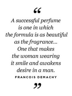 A world without perfume would be so ...so...sad.