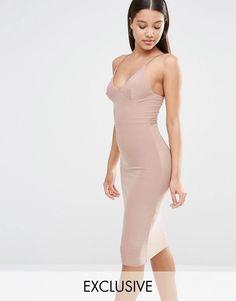 Club L | Club L Midi Dress With Cami Strap at ASOS