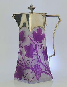 Cameo Jug - Vienna 1906 purple