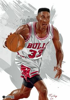 Scottie Pippen was formely my step-uncle. He and my Aunt Carla were married for many years and I met him a few times. He used to come to my high school and speak to our football and basketball teams. (He attended the University of Central Arkansas in Conway, Arkansas. I lived in Conway from kindergaten-11th grade)