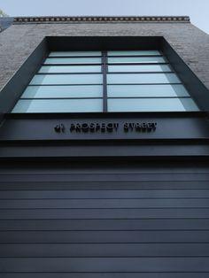 Strelein Warehouse Ian Moore Architects Renovation Modern Exterior Garage
