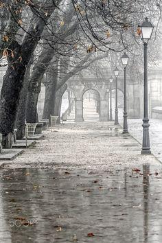 Un paseo por la historia - San Lorenzo del Escorial(Madrid) Otoño