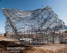 Bozeman Boulder Initiative: a rock climbing structure under construction! Engineering Projects, Urban Planning, Under Construction, Rock Climbing, Bouldering, Adventure Time, Sailing, Louvre, Exterior