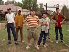 the sandlot.....the story of summer baseball and being a kid. cant believe it's been 20 years since I first saw it!!! still love it after all these years!!