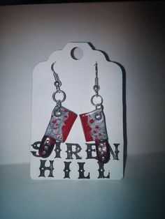 Halloween Earrings by SirenHill on Etsy