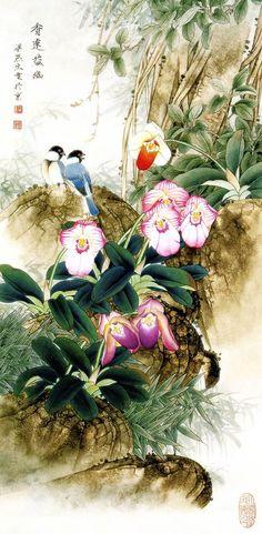 Liang YanSheng Chinese Painting Art