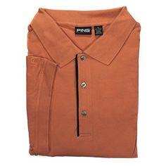 PING Apparel Mens 4XL Sumatra Short Sleeve Golf Polo Shirt Style# P255 Cotton