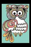 crazy owl drawing