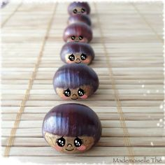 avec des marrons Land Art, Conkers Craft, Diy For Kids, Crafts For Kids, Diy And Crafts, Arts And Crafts, Rustic Crafts, Autumn Crafts, Activities For Kids