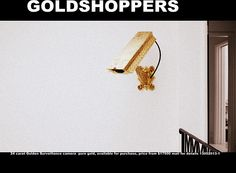 24 carat Golden Surveillance camera  pure gold, available for purchase, price from $17500 mail for details 13052013-1