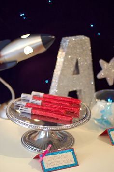 "Photo 6 of 15: Space, Star Wars, Astronomy / Birthday ""Star Wars/Astronomy Party at Pottery Barn Kids"" 