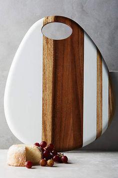 Whitestripe Cheese Board - anthropologie.com