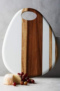 Whitestripe Cheese Board - anthropologie.com #anthroregistry