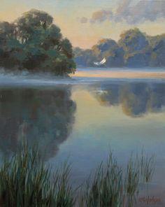 Awakening | Kathleen B. Hudson, artist | Oil painting | Plein Air