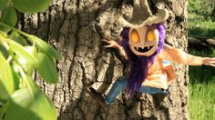 'I Live in the Woods!' by Max Winston. Dark and deeply messed up but really funny short animation. Love the style.