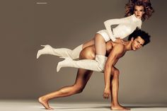 Sigrid Agren  & Parker Gregory by Giampaolo Sgura