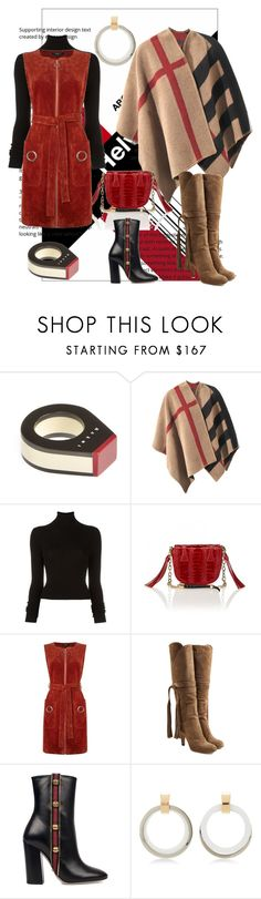 """Rusty"" by trescrwndgg ❤ liked on Polyvore featuring Marni, Burberry, BLK DNM, Okapi, Therapy, Chloé and Gucci"