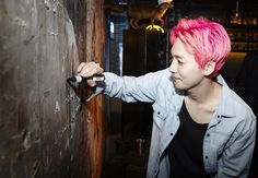 WINNER Jinwoo - At YG Republique (160314)