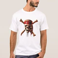 Shop Pirates of the Caribbean skull torches Logo Disney T-Shirt created by DisneyPirates. Personalize it with photos & text or purchase as is!